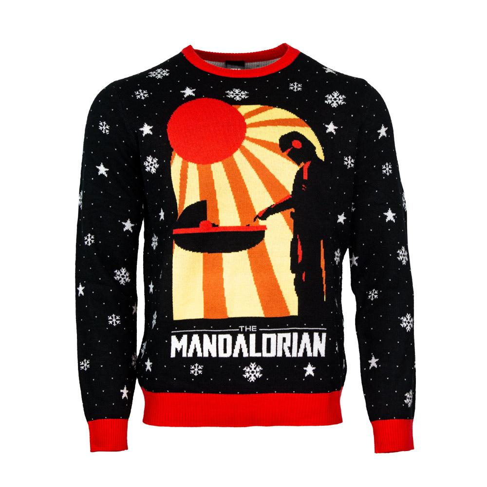 Star Wars The Mandalorian christmas sweater and jumper