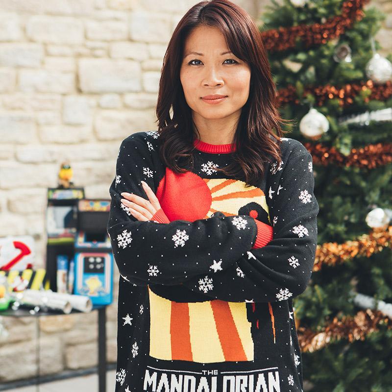 Star Wars The Mandalorian christmas sweater- pic 2