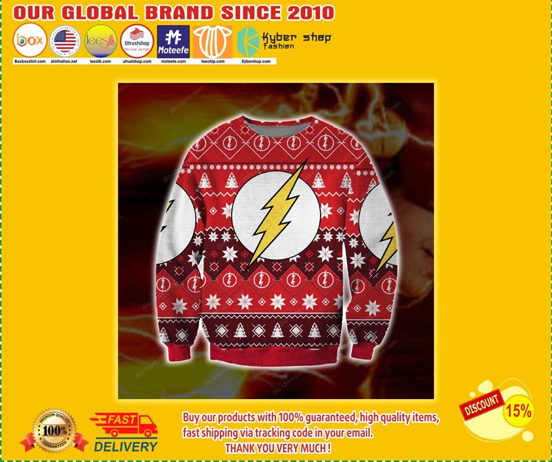 THE FLASH UGLY CHRISTMAS SWEATER - LIMITED EDITION BBS