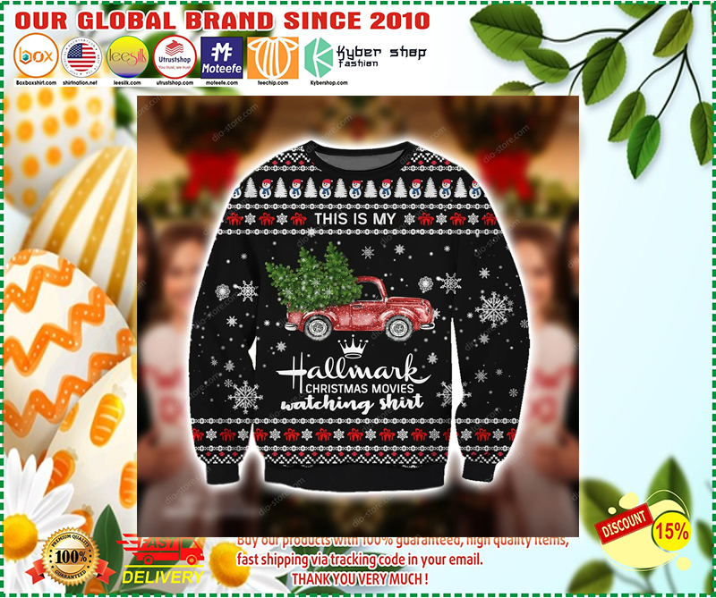 THIS IS MY HALLMARK CHRISTMAS MOVIES WATCHING UGLY CHRISTMAS SWEATER - LIMITED EDITION BBS