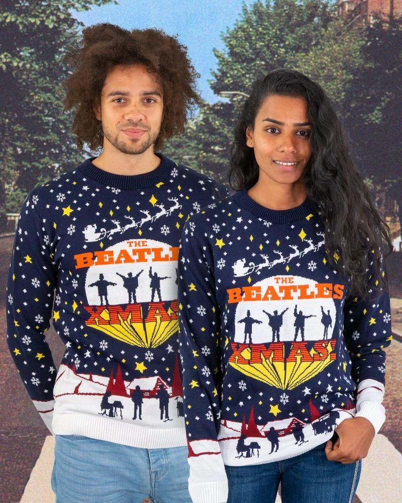 The beatles xmas jumper and ugly sweater size S