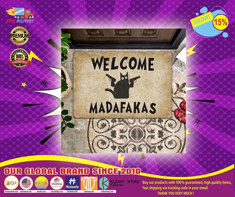 Welcome madafakas doormat - LIMITED EDITION