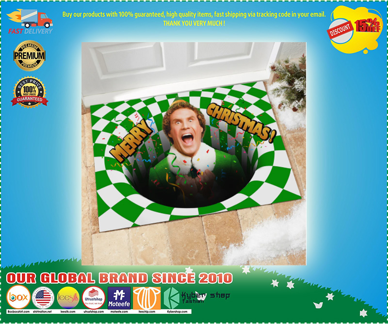 Will Ferrell Elf Merry Christmas Doormat – LIMITED EDITION