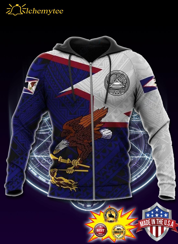 American samoa pride all over printed shirt 2
