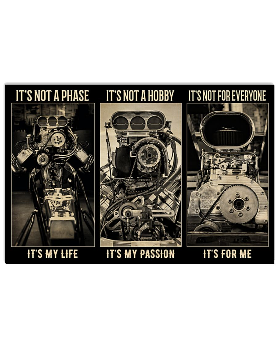 BW Engine It's not a phase It's not a hobby It's not for everyone poster
