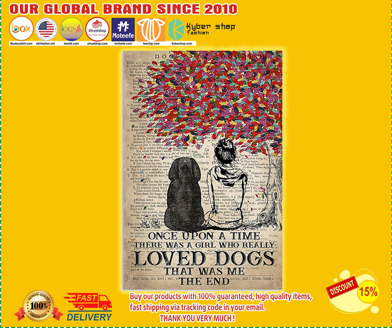 Blood Hound and she lived happily ever after poster - LIMITED EDITION BBS