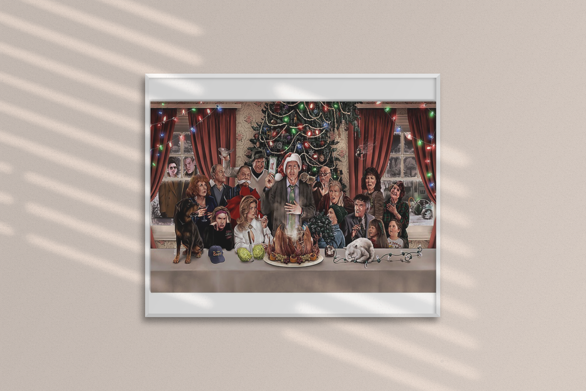 Christmas national lampoons vacation poster