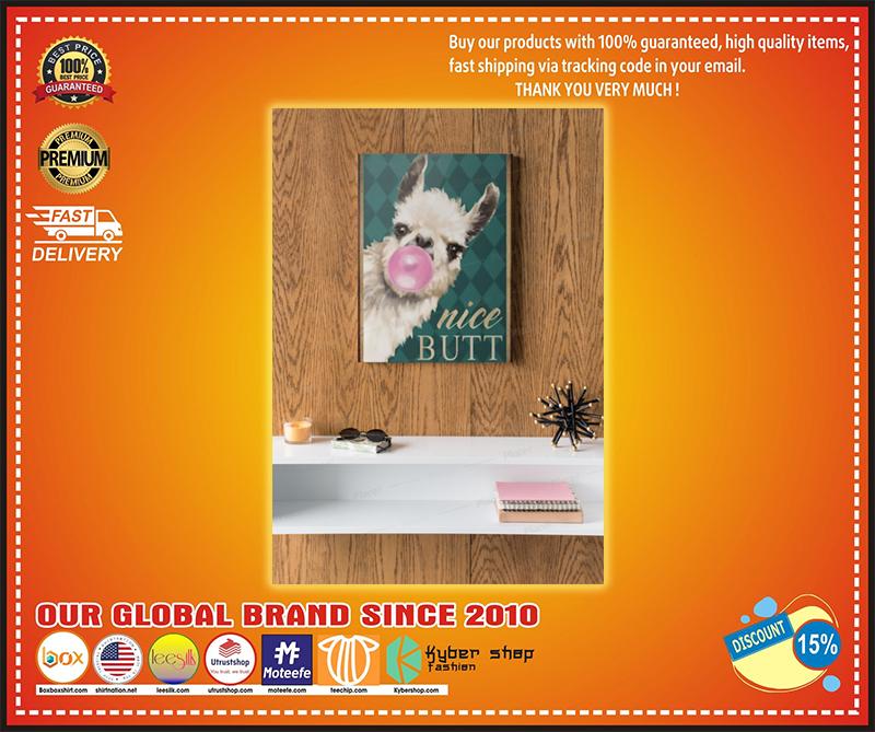 Llama Nice Butt Poster - LIMITED EDITION BBS