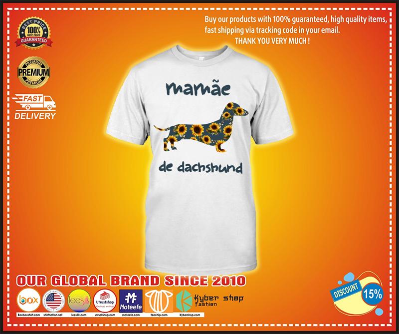 Mammae de dachshund shirt - LIMITED EDITION BBS