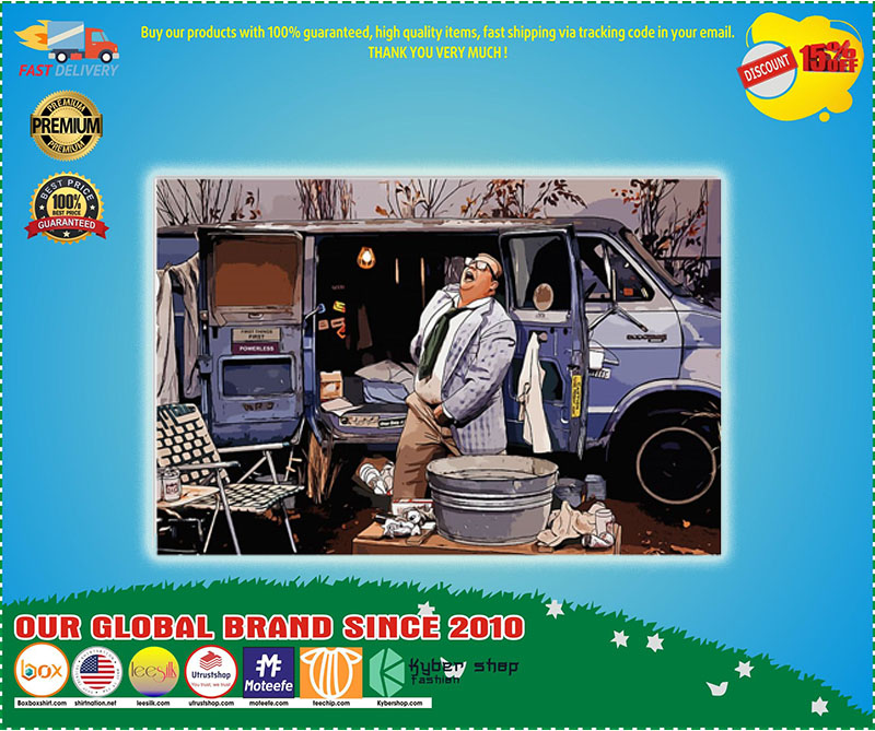 Matt Foley Living in the van down by the river poster - LIMITED EDITION