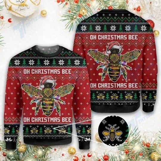 Oh Christmas Bee Ugly Christmas Sweater
