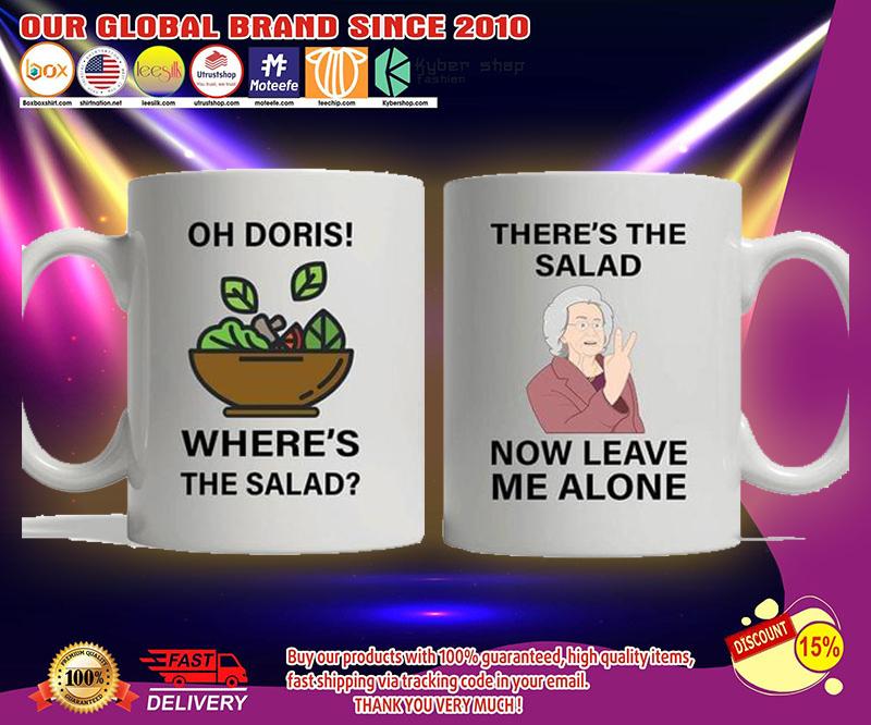 Oh Doris where's the salad mug