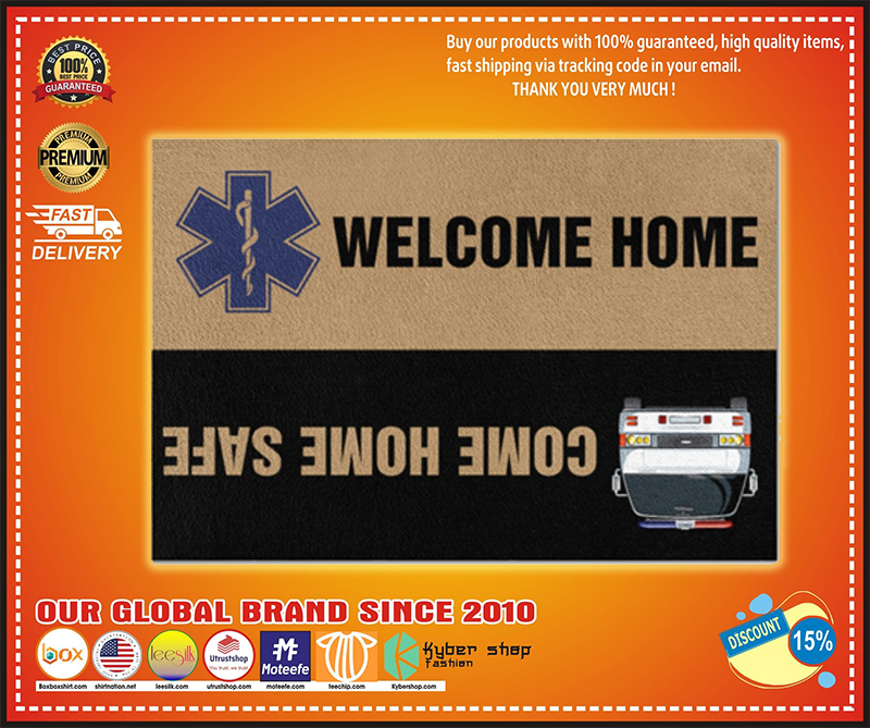 Paramedic welcome home doormat - LIMITED EDITION BBS