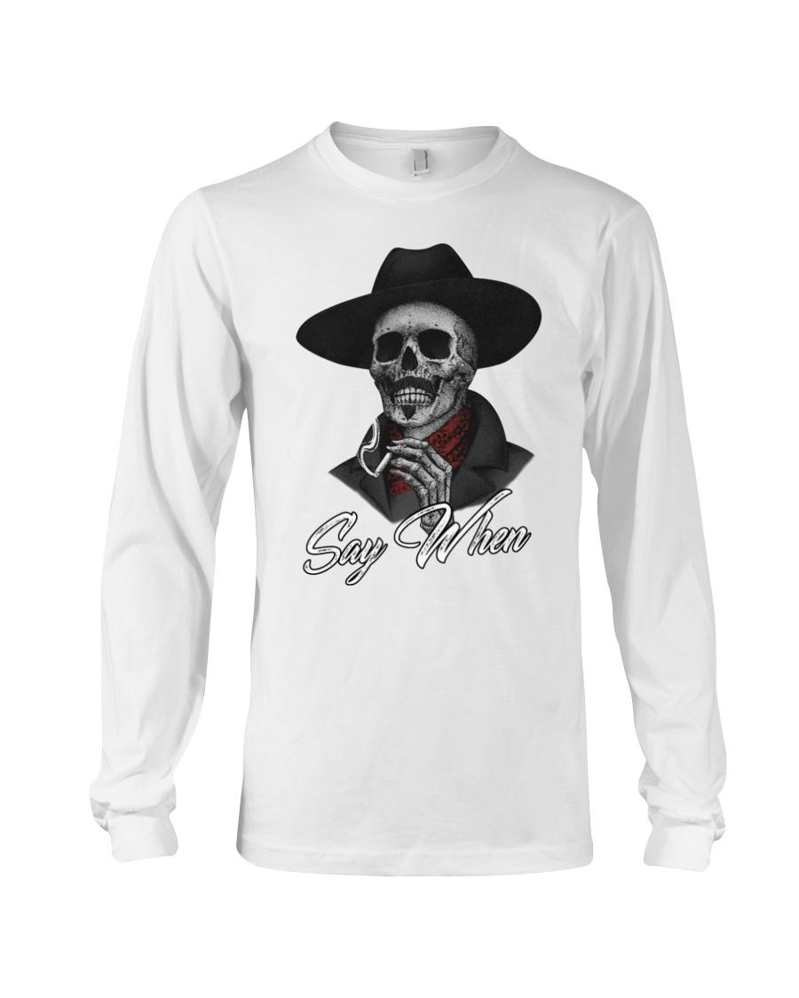 Tombstone Skull say when shirt