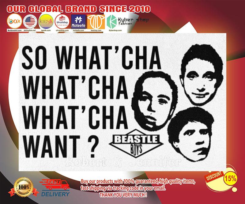 Beastie Boys So what'cha what'cha doormat