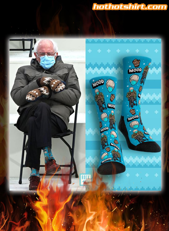 Bernie inauguration meme socks