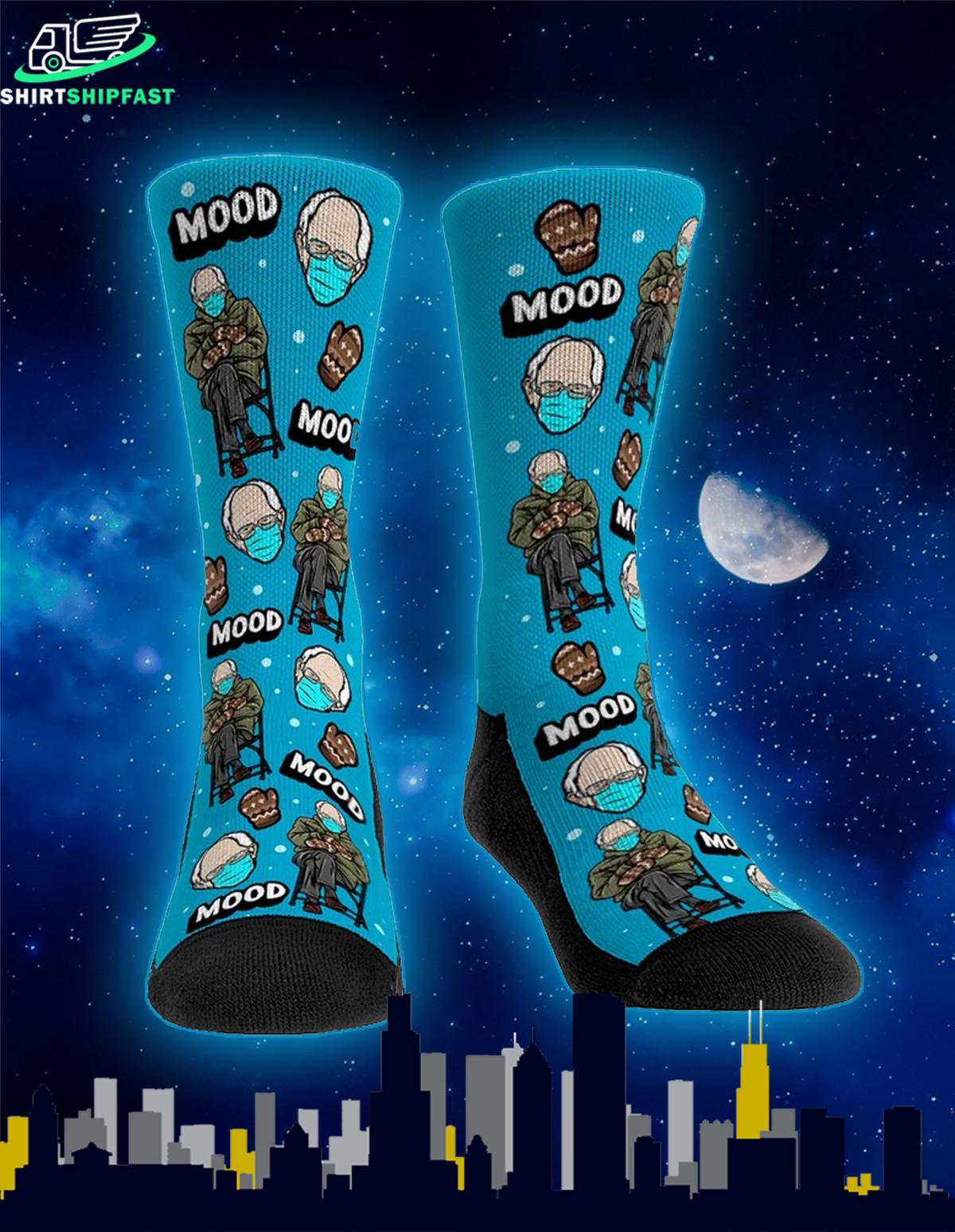 Bernie sanders inauguration meme socks - Picture 1