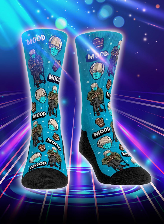 Bernie sanders inauguration meme socks - Picture 3