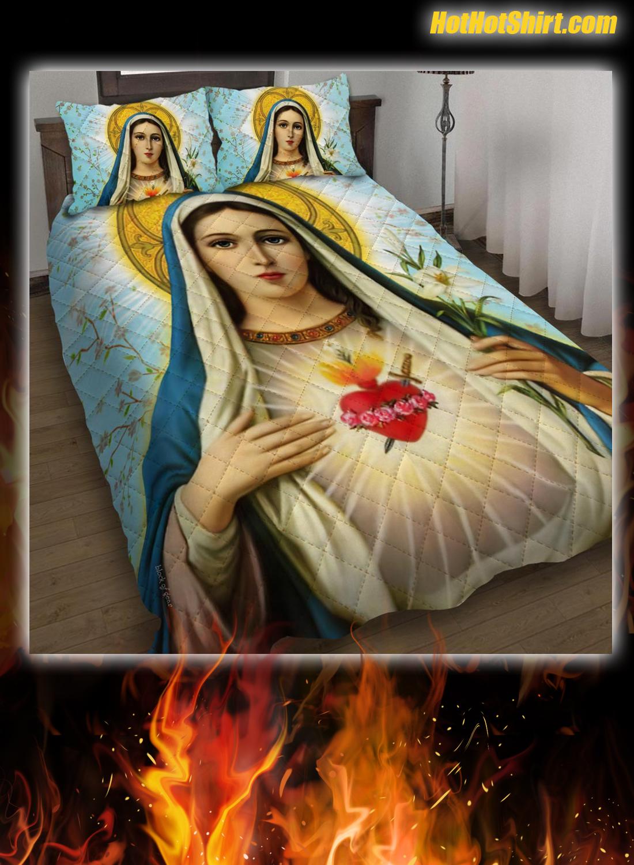 Blessed Virgin Mary Bedding Set 1