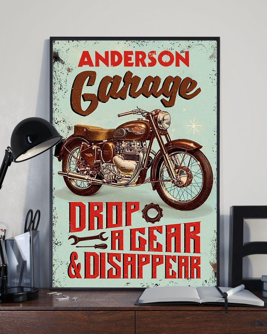 Garage drop a gear and disappear poster