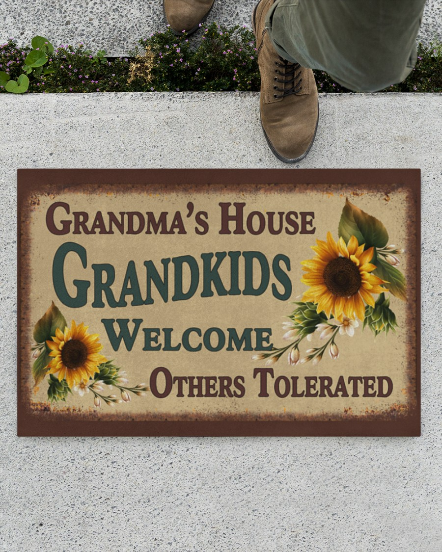 Granma's house grandkids welcome others tolerated doormat 1