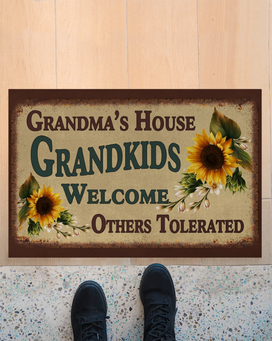Granma's house grandkids welcome others tolerated doormat 3