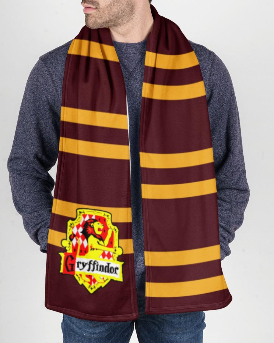 Harry Potter Gryffindor Fleece Scarf 1