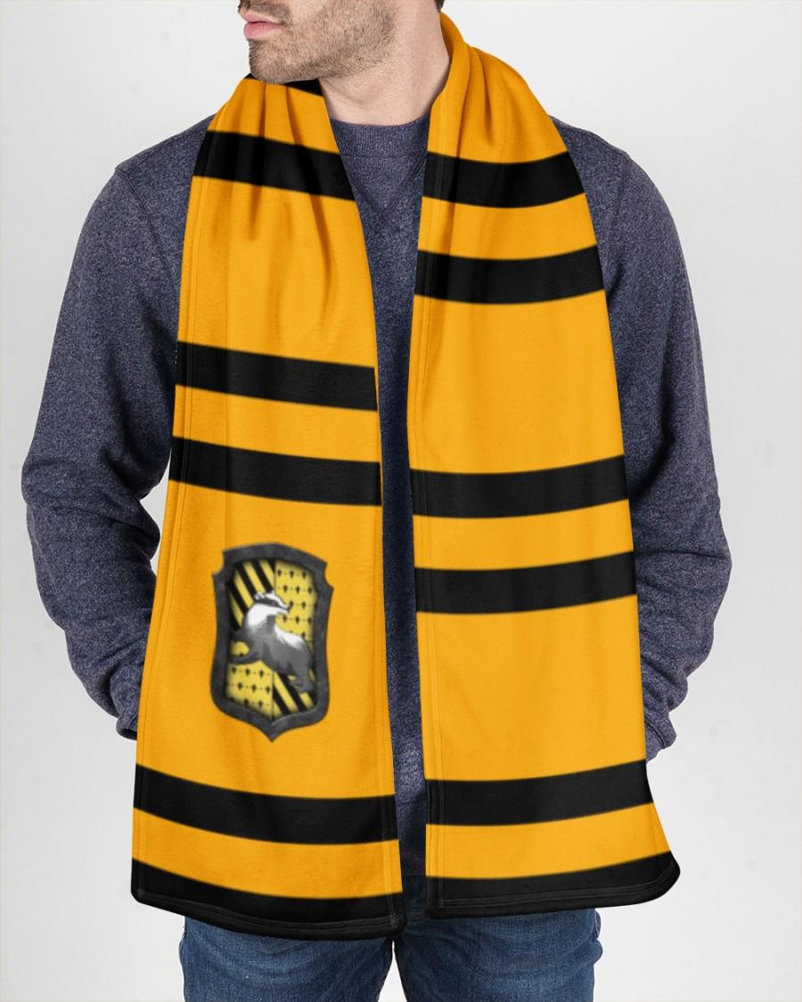 Harry Potter Hufflepuff Fleece Scarf 1