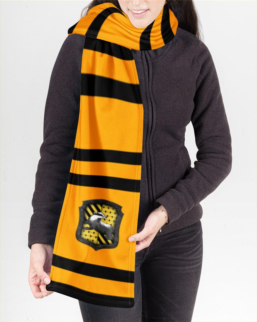 Harry Potter Hufflepuff Fleece Scarf 2