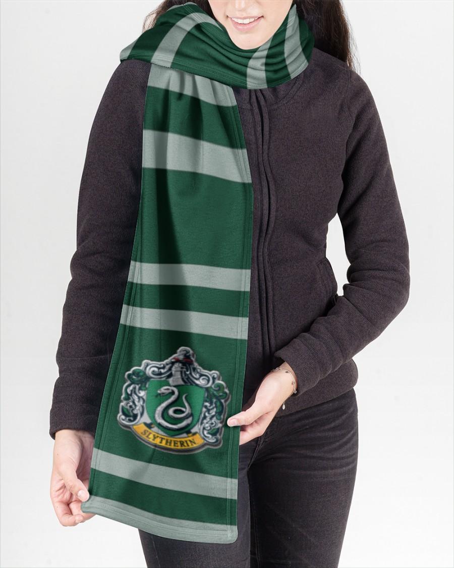 Harry Potter Slytherin Fleece Scarf 3