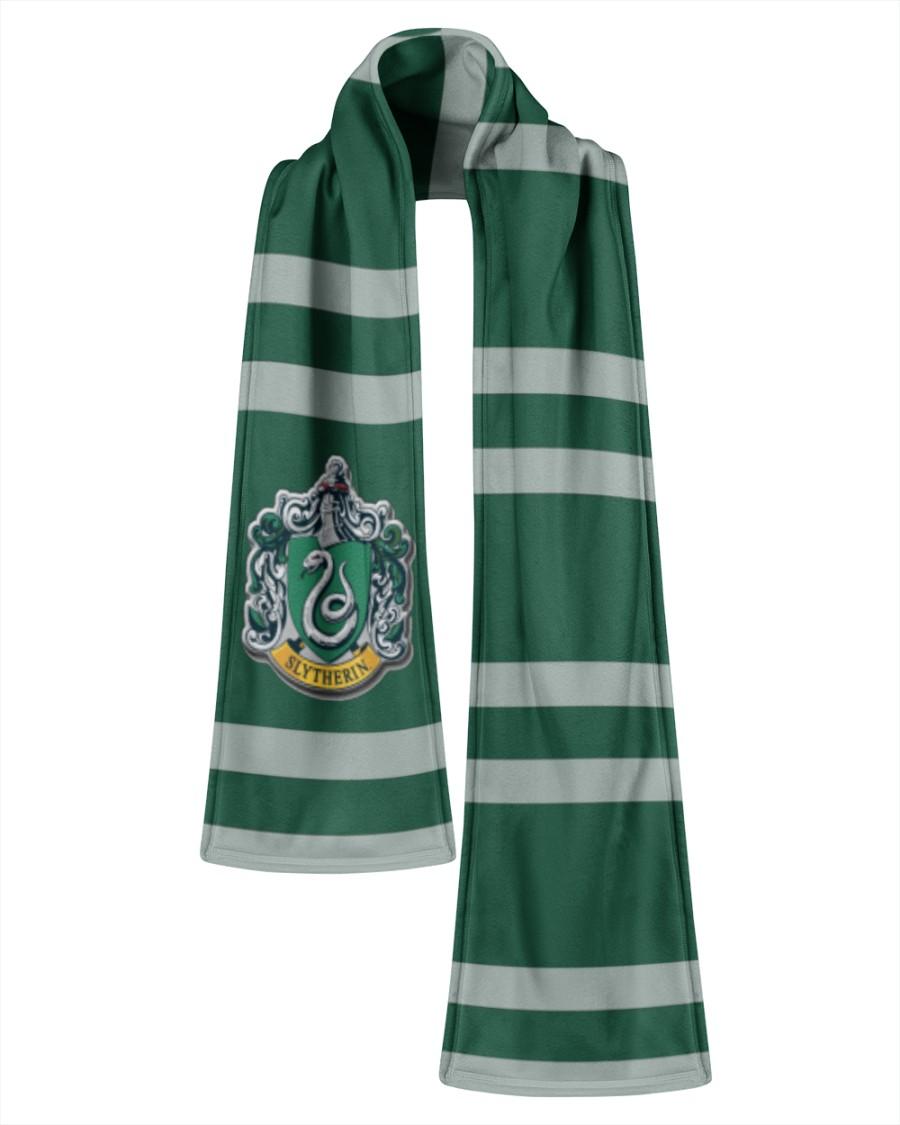 Harry Potter Slytherin Fleece Scarf