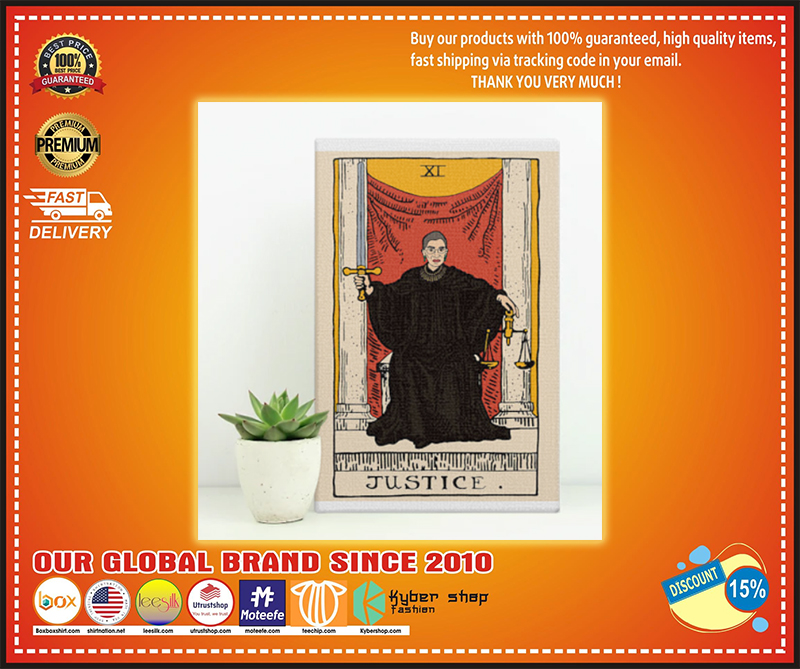 RBG Justice Vertical Poster - LIMITED EDITION BBS