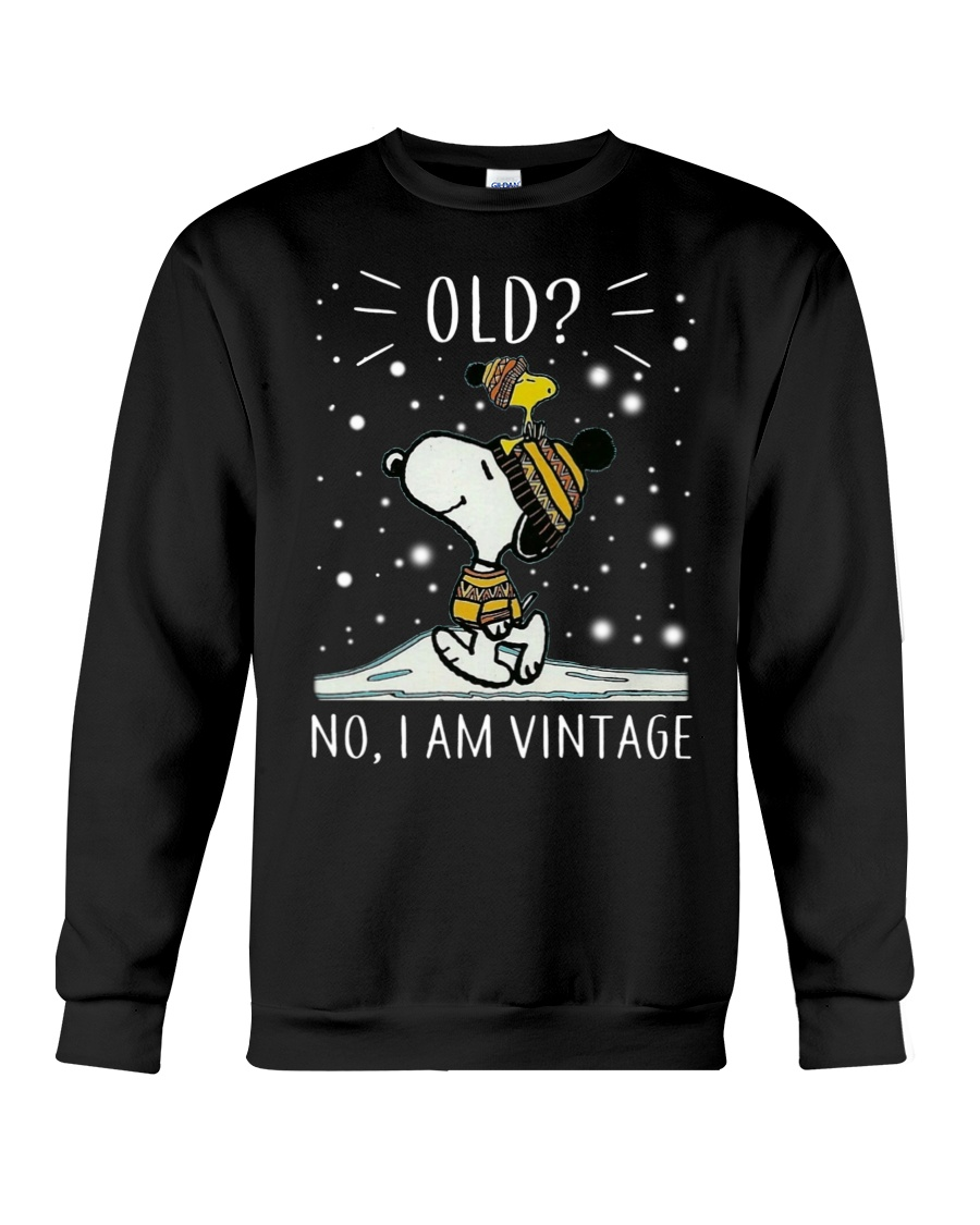 Snoopy old no I am vintage shirt