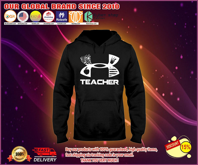 Under Armour teacher shirt and legging
