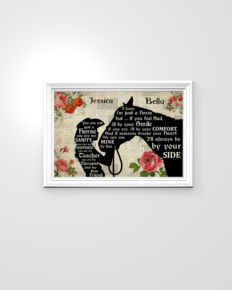 You are not just a horse you are my sanity poster