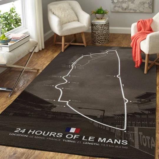 24H of le mans rug