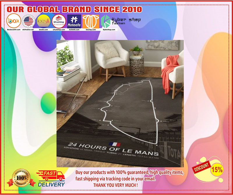 [LIMITED EDITION] 24H of le mans rug