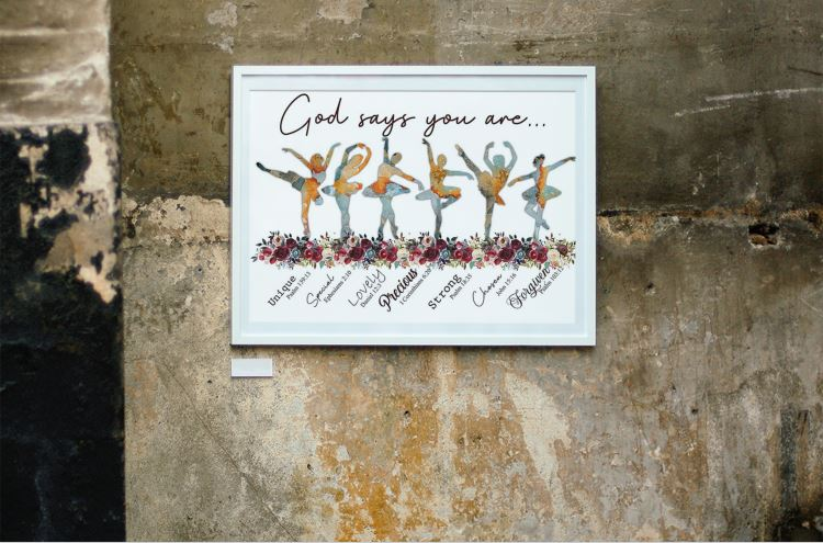 [LIMITED EDITION] Ballet God says you are poster