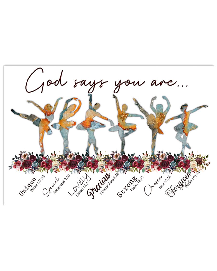 Ballet God says you are poster