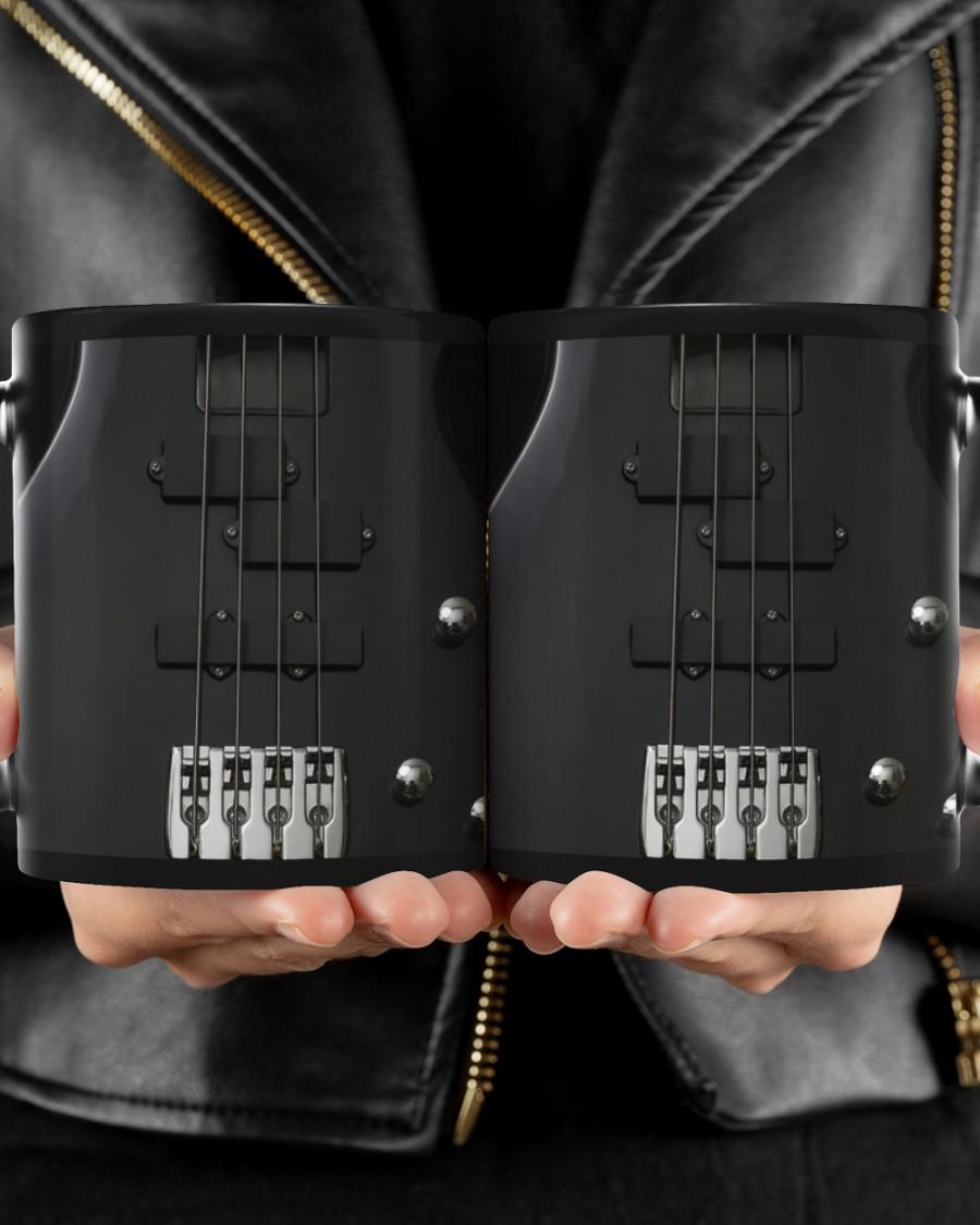 [LIMITED EDITION] Bass Guitar Black Strings mug