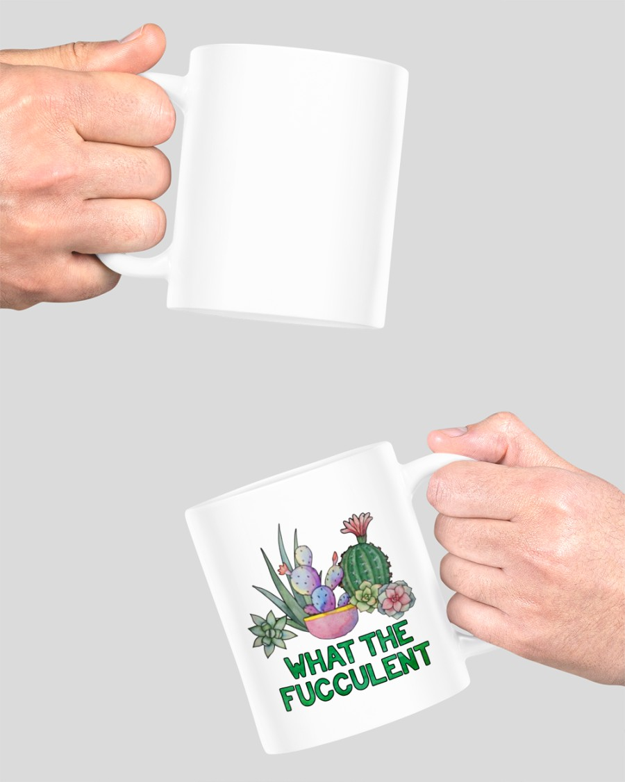 [LIMITED EDITION] Cactus what the fucculent mug