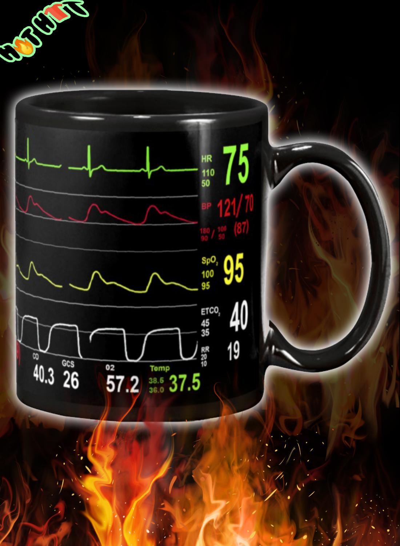 Cardiologist Number ECG Mug