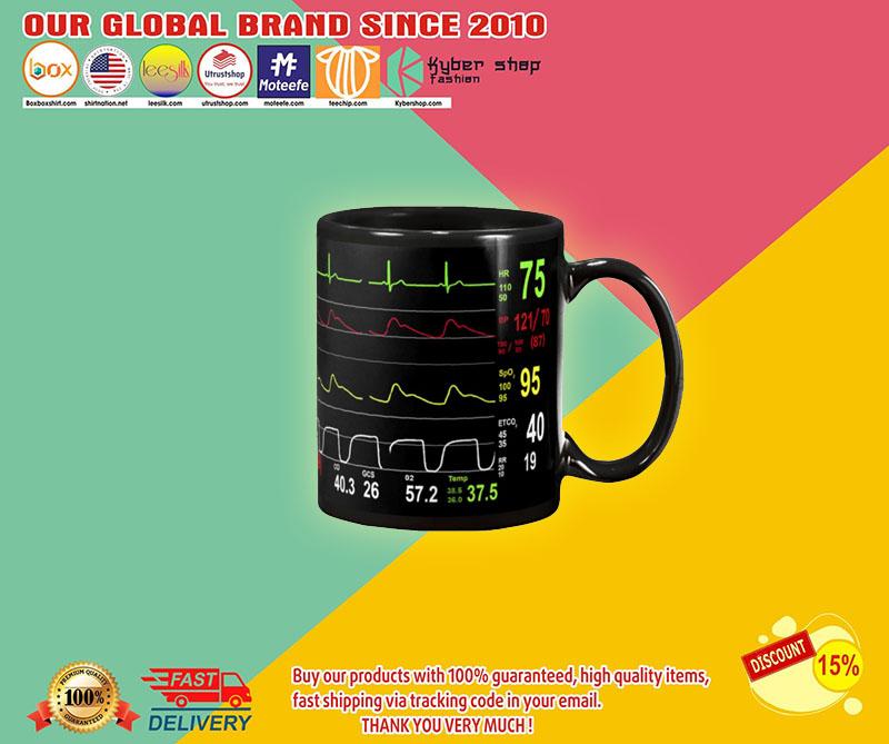 Cardiologist number screen mug
