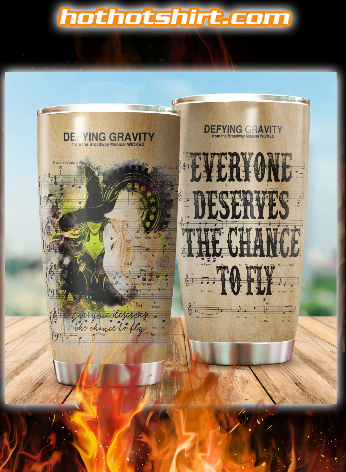 Everyone deserves the chance to fly tumbler