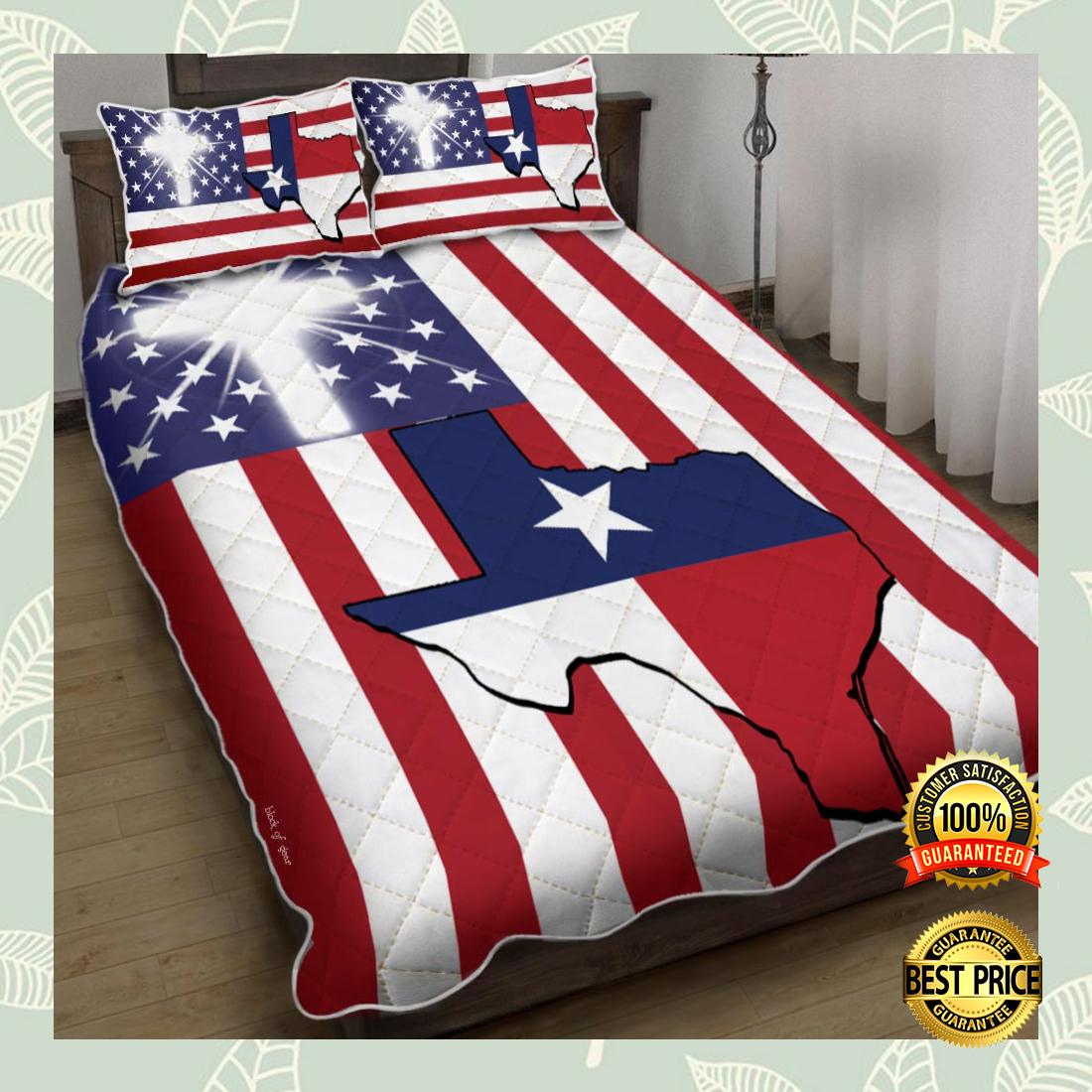 God Bless Texas bedding set 4