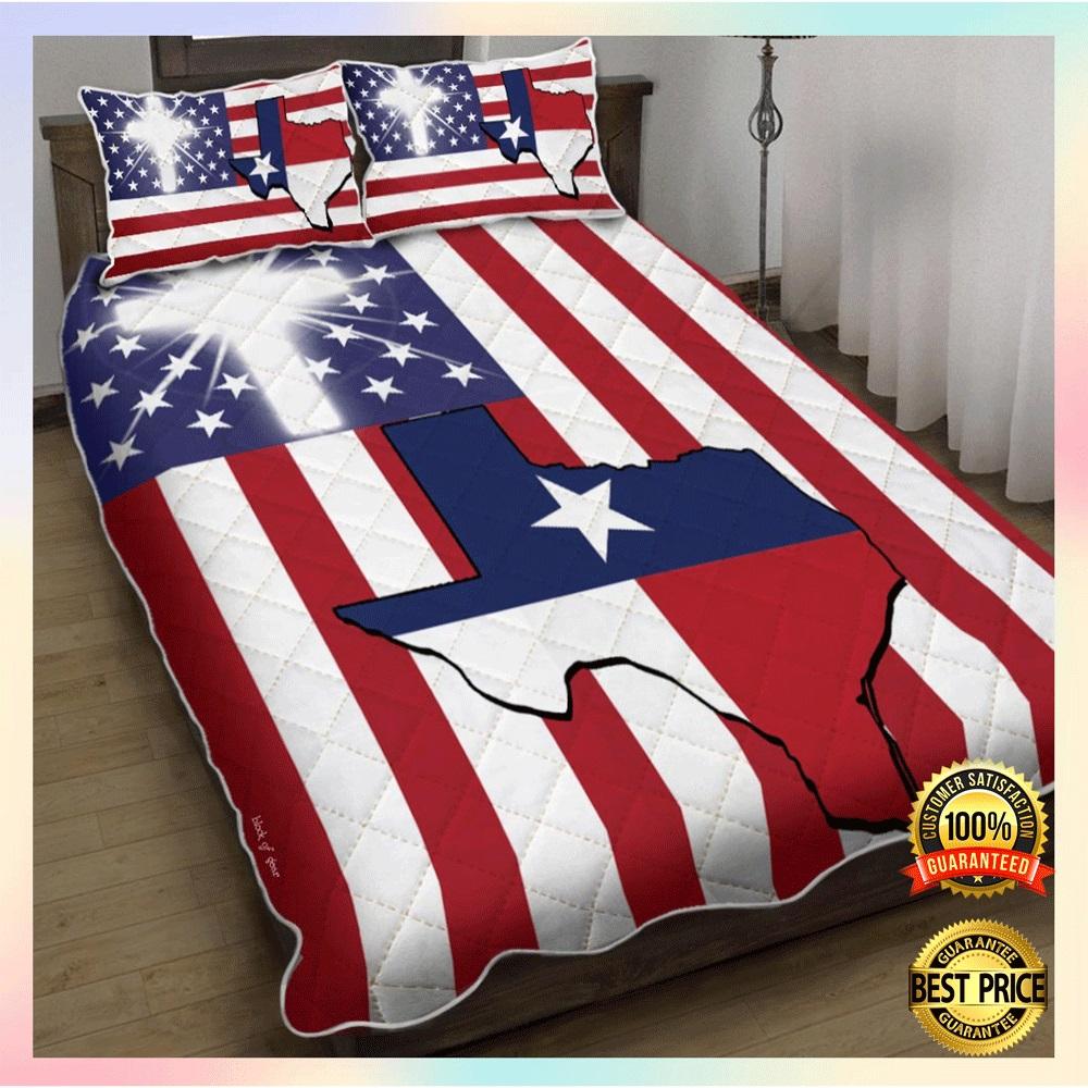 God Bless Texas bedding set1