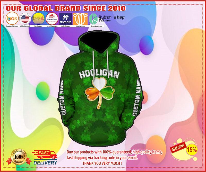 [LIMITED EDITION] Hooligan irish hooligan stay true till death custom name 3D hoodie