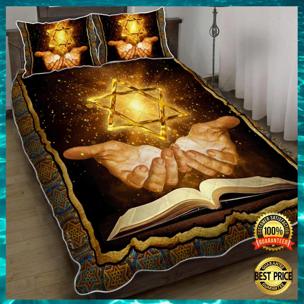 Jewish Bible bedding set1