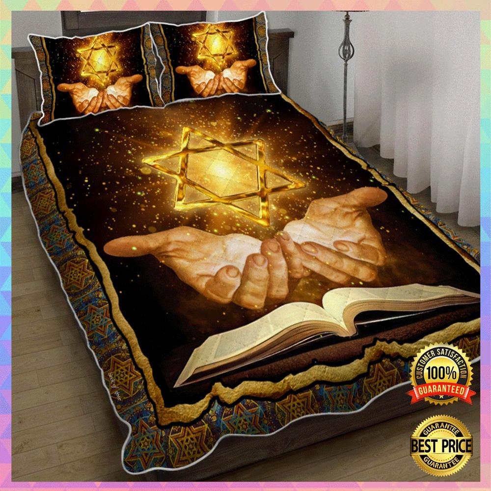 Jewish Bible bedding set2