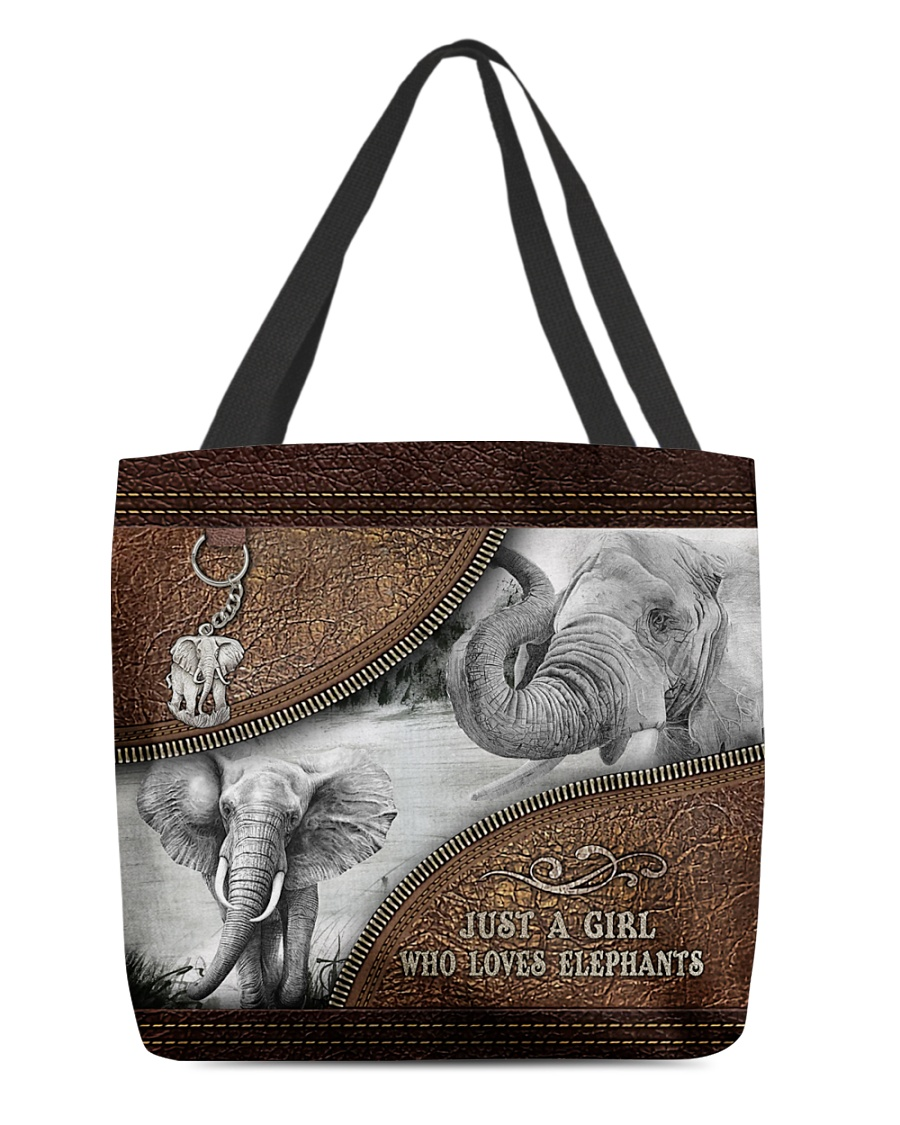 Just a girl who loves elephants tote bag